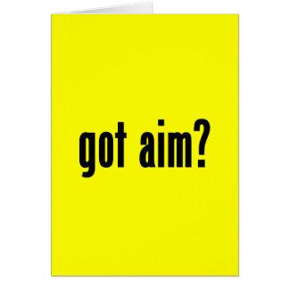 got aim? card