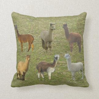 Got Alpacas? Throw Pillow