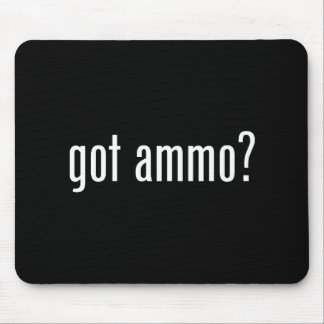 got ammo? mouse pad