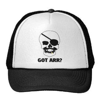 Got Arr? Pirate Skull Trucker Hat