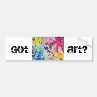 Got Art? Bumper Sticker