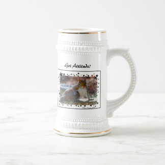 Got Attitude? Squirrel Beer Stein