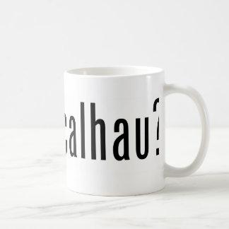 got bacalhau? coffee mug