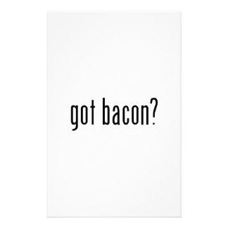 got bacon? custom stationery