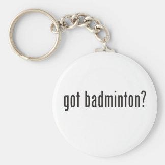 got badminton? keychain