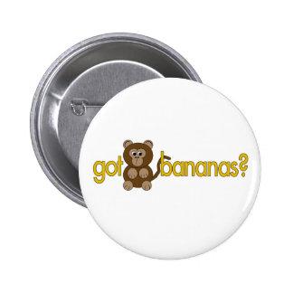 Got bananas? pins