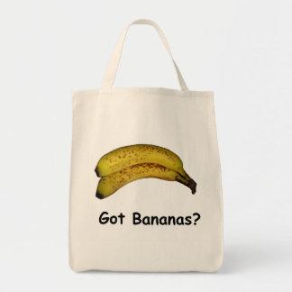 Got Bananas Grocery Tote Bag