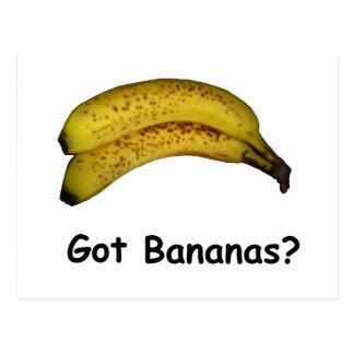 Got Bananas Postcard