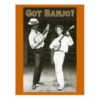 Got Banjo? Postcard