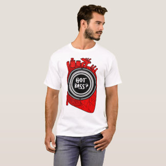 Got Bass Human Heart Subwoofer T-Shirt