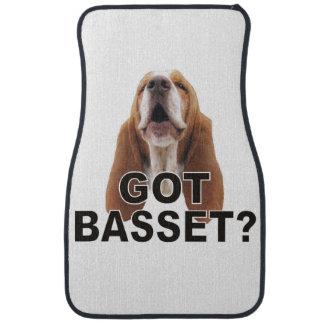 Got Basset? Basset Hound Car Mats