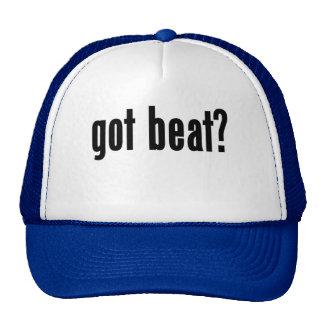 got beat? trucker hat