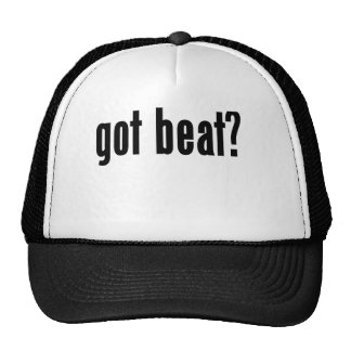 got beat? hats