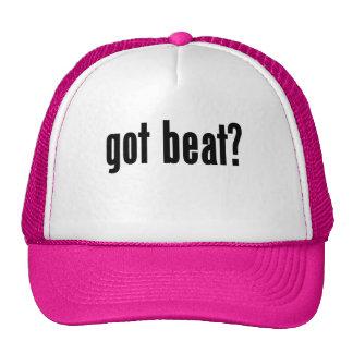 got beat? mesh hats