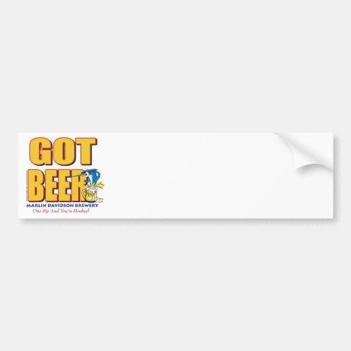 GOT-BEER-Crazy Bumper Stickers