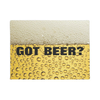 Got Beer Doormat