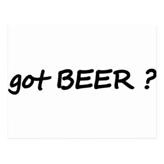 got beer icon postcard