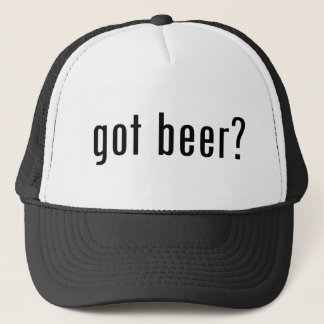 got beer? trucker hat