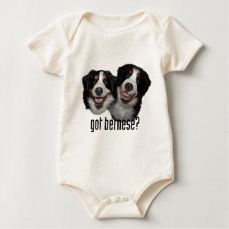 got bernese? baby bodysuit