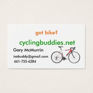 got bike? business cards