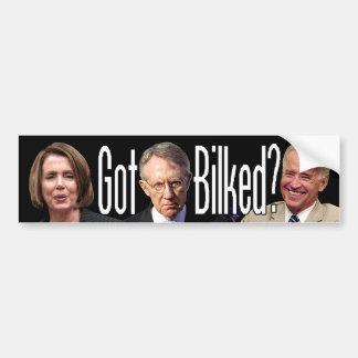 Got Bilked? (Three of the Stooges) Bumper Sticker