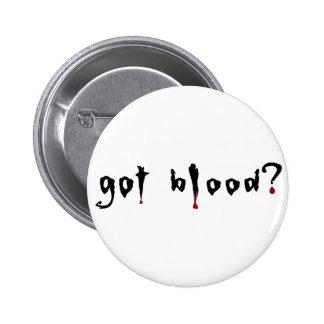 got blood? 2 inch round button