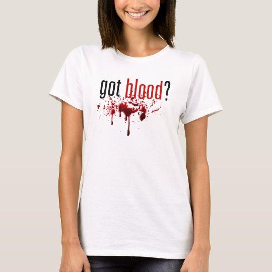 Got Blood - Blood Splatter Tee
