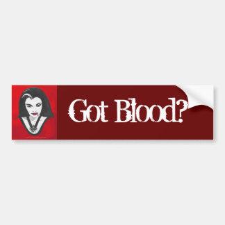 GOT BLOOD? Bumper Sticker