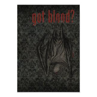 Got Blood? Halloween Party Invitation