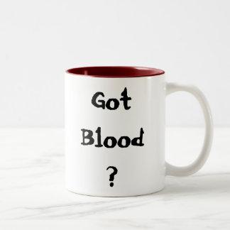Got Blood? Two-Tone Coffee Mug