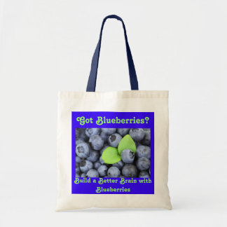 Got Blueberries? Tote Bag
