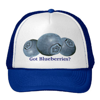 Got Blueberries? Trucker Hat