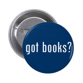 got books? 2 inch round button