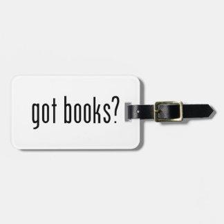 got books? bag tag
