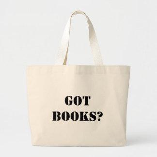 Got Books? Large Tote Bag