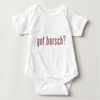 got borsch? baby bodysuit