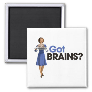 Got Brains Magnet