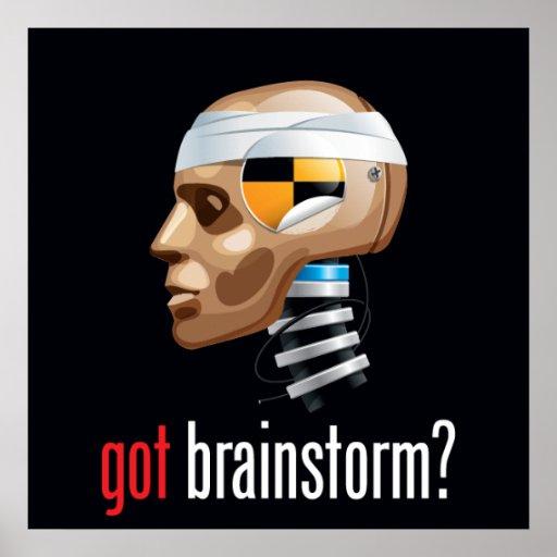 got brainstorm? poster