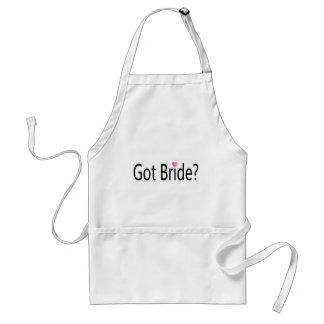 Got Bride Heart Standard Apron