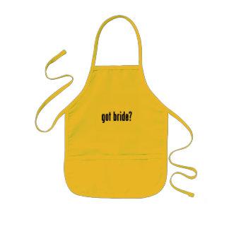 got bride? kids apron