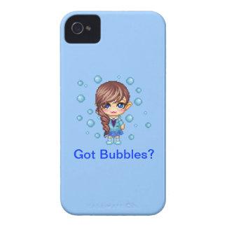 Got Bubbles? Cutie Pixel iPhone 4 Case-Mate Cases