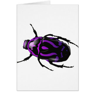 Got Bugs-Wild Colored Beetle Card