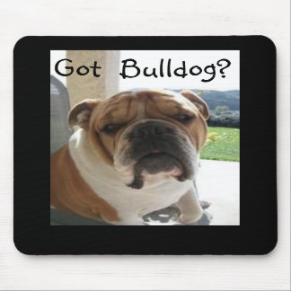 Got Bulldog? Mouse Pad
