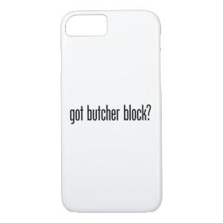 got butcher block iPhone 7 case