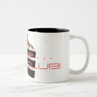 got CAKE, office . . . CAKE CLUB! Two-Tone Coffee Mug