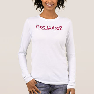 Got Cake? - pink Long Sleeve T-Shirt