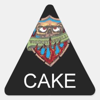 Got Cake? Triangle Sticker