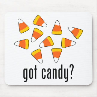got candy? (Candy Corn) Mouse Pad