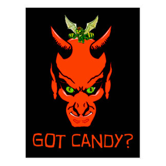 Got Candy Demon? Postcard