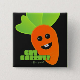 Got Carrot? 2 Inch Square Button